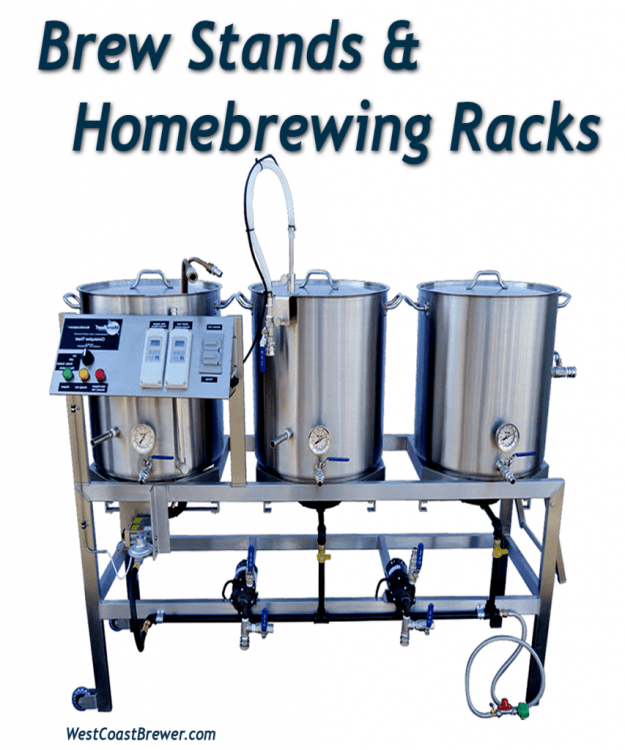 Brew Stands and Homebrewing Racks