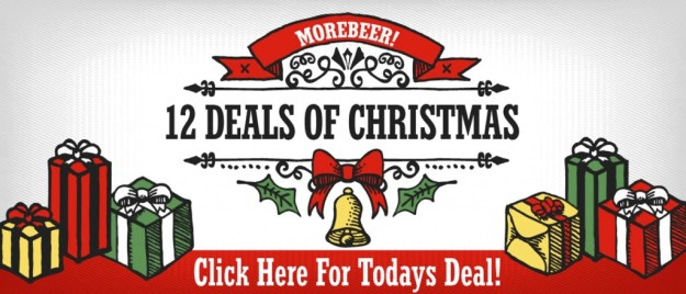 MoreBeer Holiday Sale