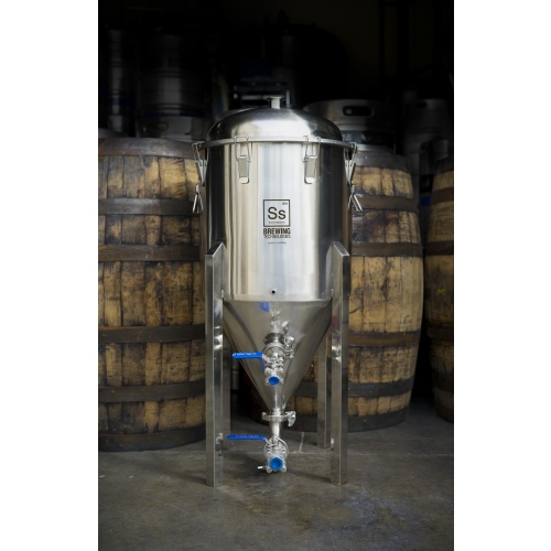 14 Gallon Stainless Steel Conical Fermenter
