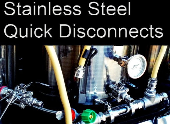 Home Brewing Quick Disconnects