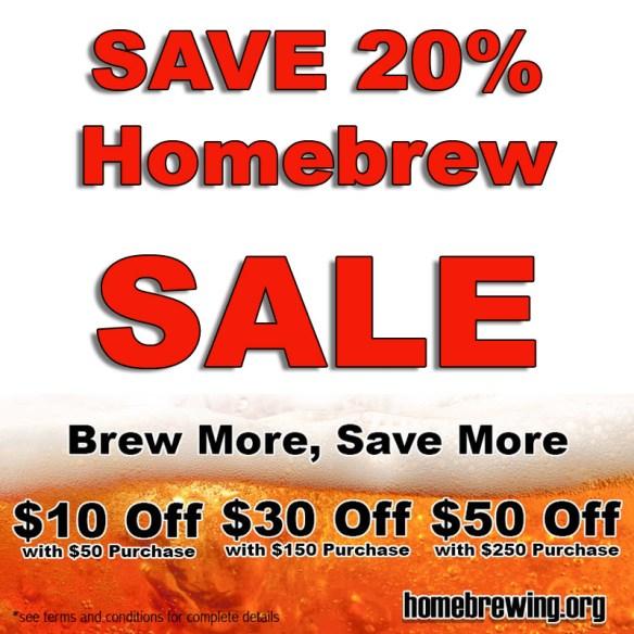 Adventures in Homebrewing Sale
