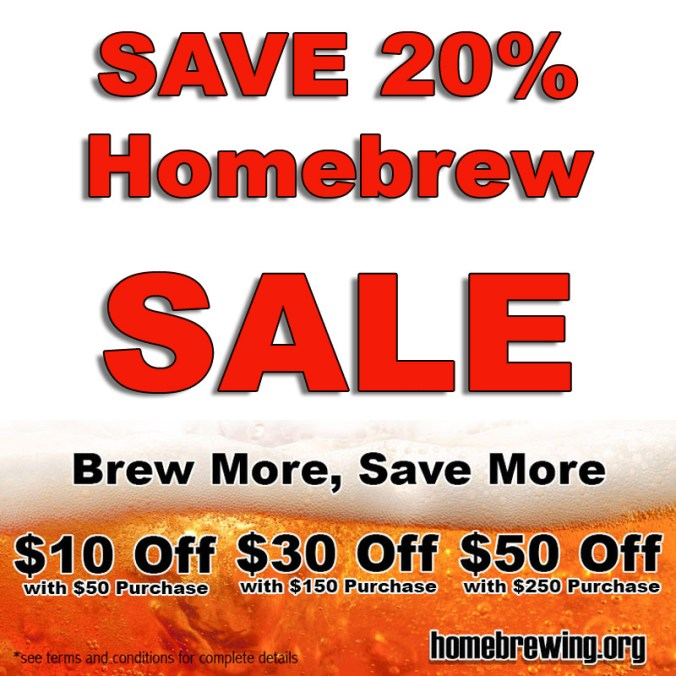 Adventures in Homebrewing Sale