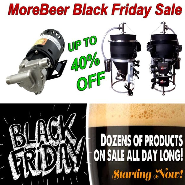 MoreBeer Black Friday Sale