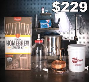 Premium Home Beer Brewing Kit