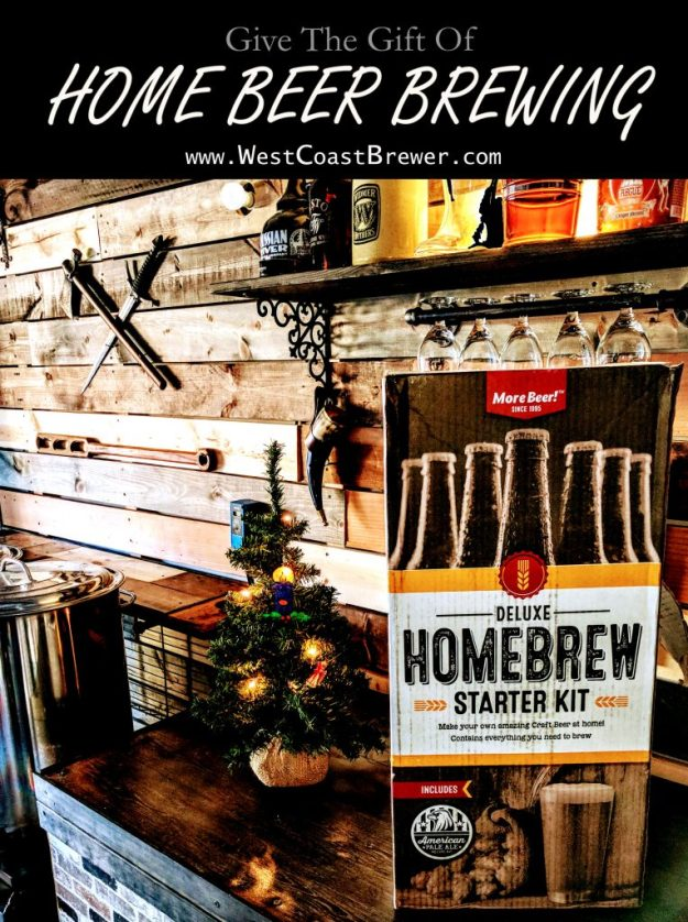 Give The Gift Of Home Beer Brewing! #homebrew #homebrewing #gift #beer #brewing #kits
