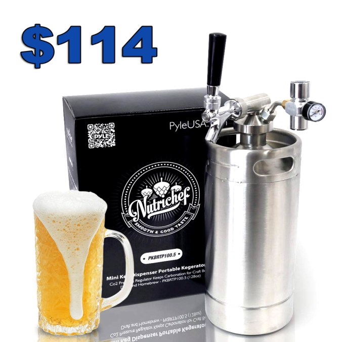 Stainless Steel Mini Keg Kegerator