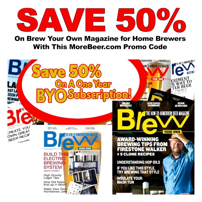Brew Your Own Magazine Promo Code