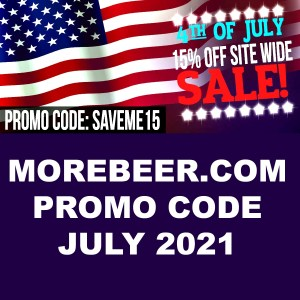 Save 15% with this MoreBeer.com Coupon Code