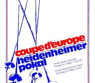 European Cup 1989