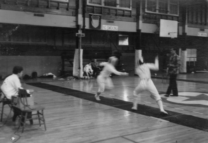 1964 Letterman action