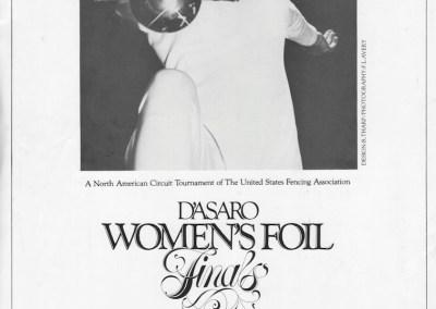 1983 D'Asaro Women's Foil