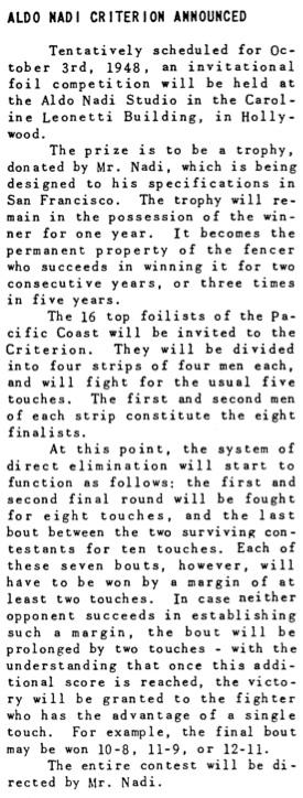 The Fencer.AldoNadi.criterion.1948
