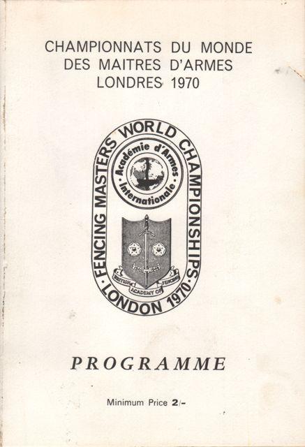 1970 Masters program.1