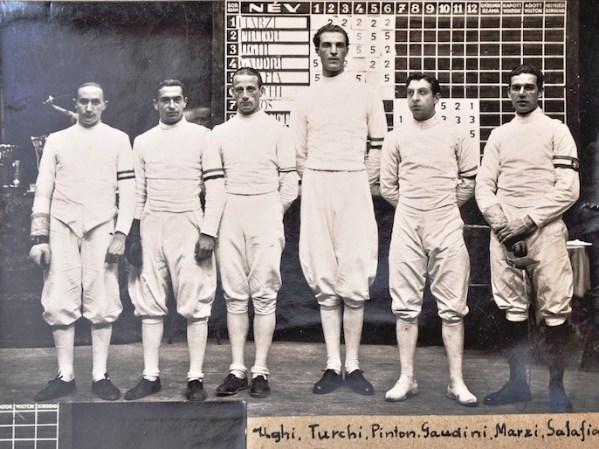 1933 WC TS 2nd.UgoUghi.SilvioTurks.VincenzoPinton.GiulioGaudini.GustavoMarzi.EmilioSalafia