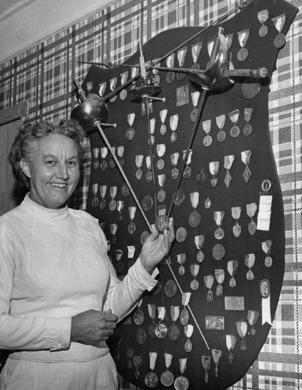 1960 Maxine medals