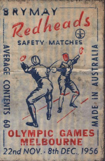 1956 Matches ad