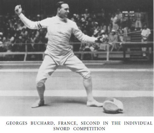 Olympics 1932 ME Georges Buchard