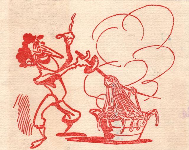 1949 Santelli card