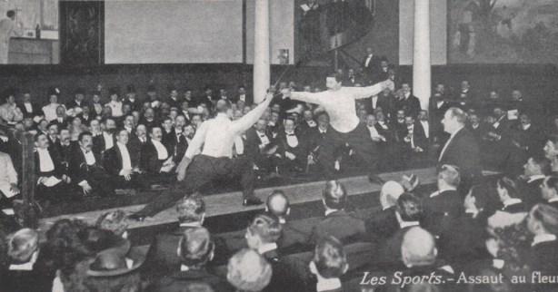 1895 Assaut au fleuret