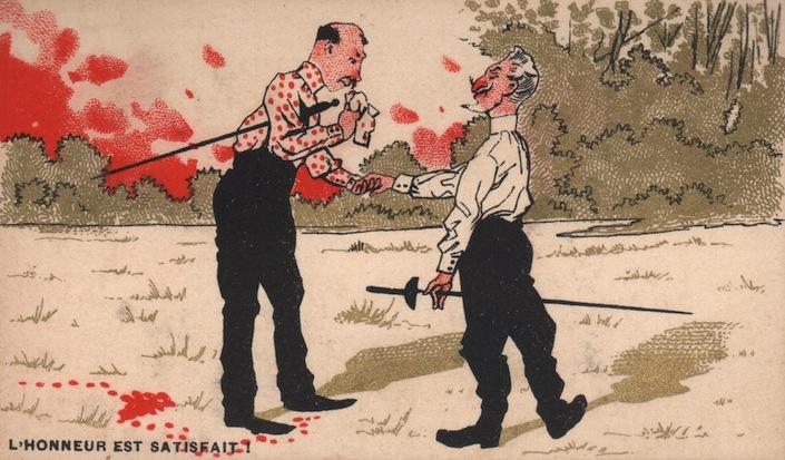 1900 L'Honneur Est Satisfait