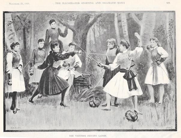 Viennese Fencing Ladies