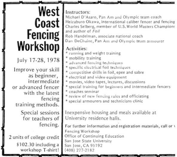 1978 Workshop ad AF mag
