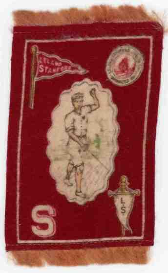 1911 Murad tobacco Tiny Stanford Rug