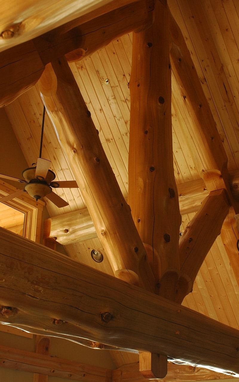 Cle Elum Post And Beam West Coast Log Amp Timber