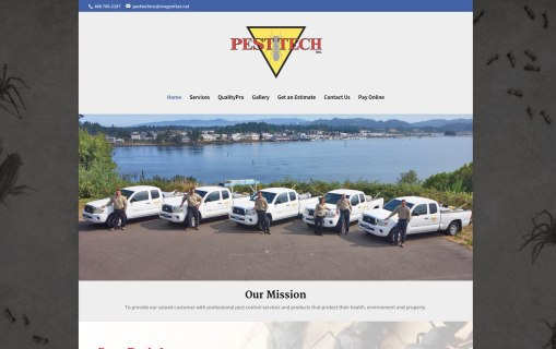 Pest Tech Inc. – Website