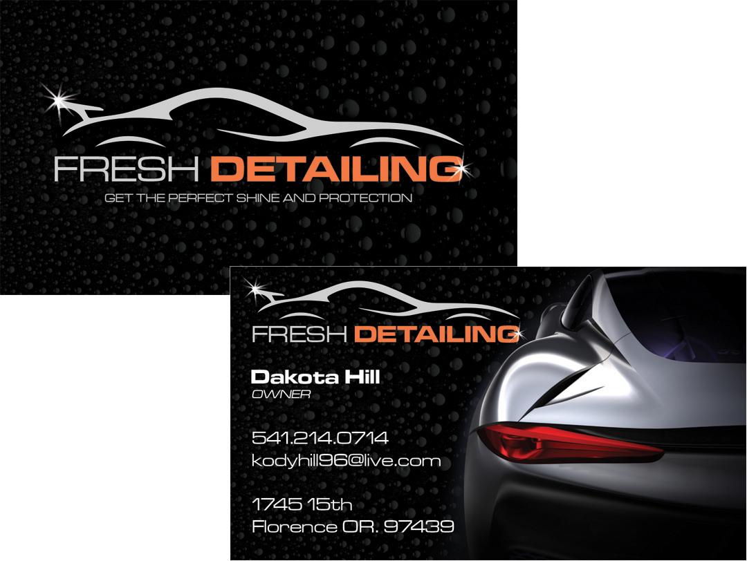 Fresh Detailing – Business Card