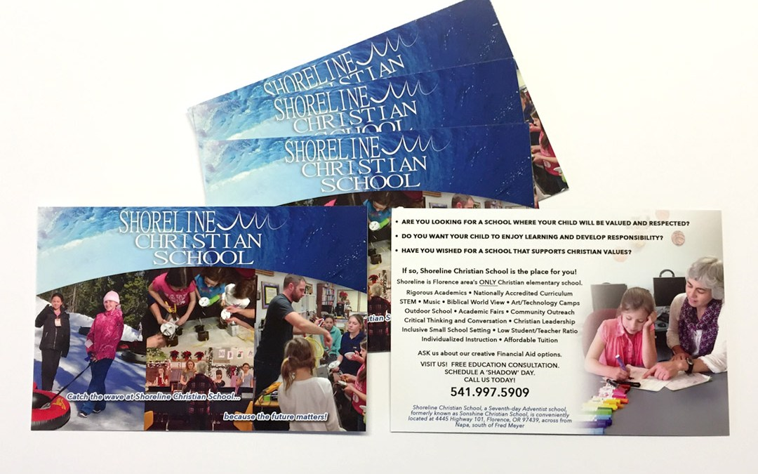 Shoreline Christian School – Postcard