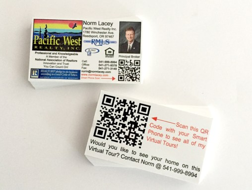 Pacfic West Realty – Business Cards