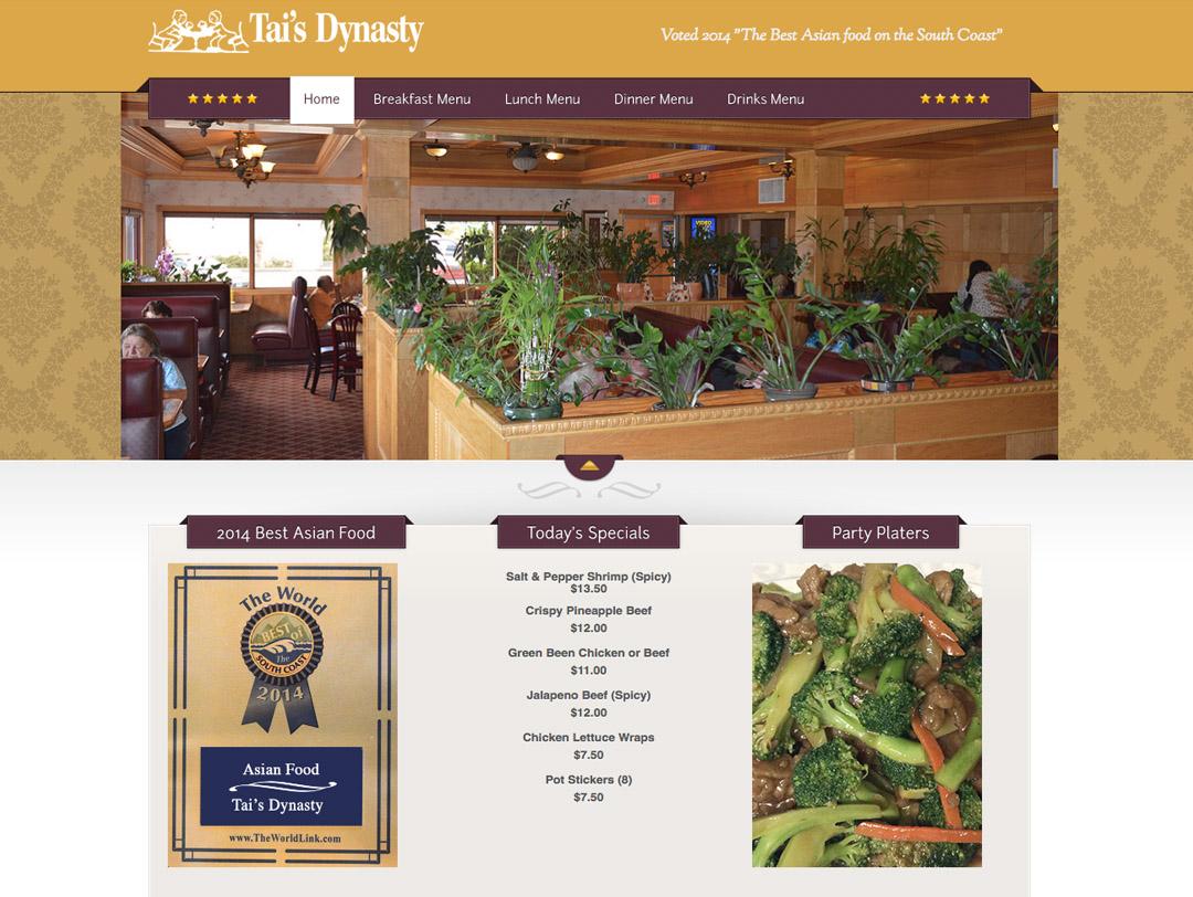 Tai's Dynasty – Website