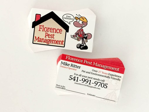 Florence Pest Management – Business Cards