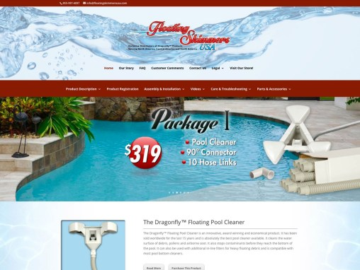 Floating Skimmers USA – Website