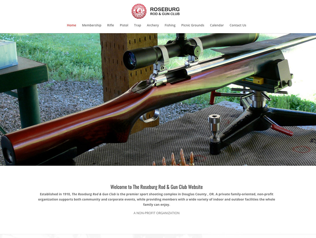Roseburg Rod & Gun Club – Website