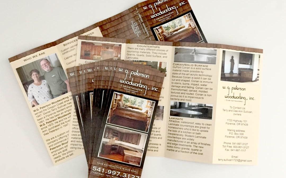 W.G. Peterson Woodworking – Brochure