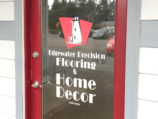 Edgewater Precision Flooring – Window Vinyl