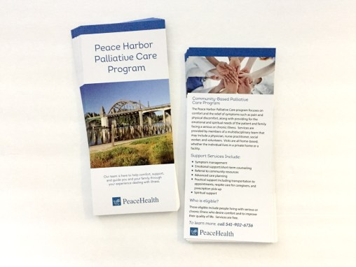 PeaceHealth – Rack Card