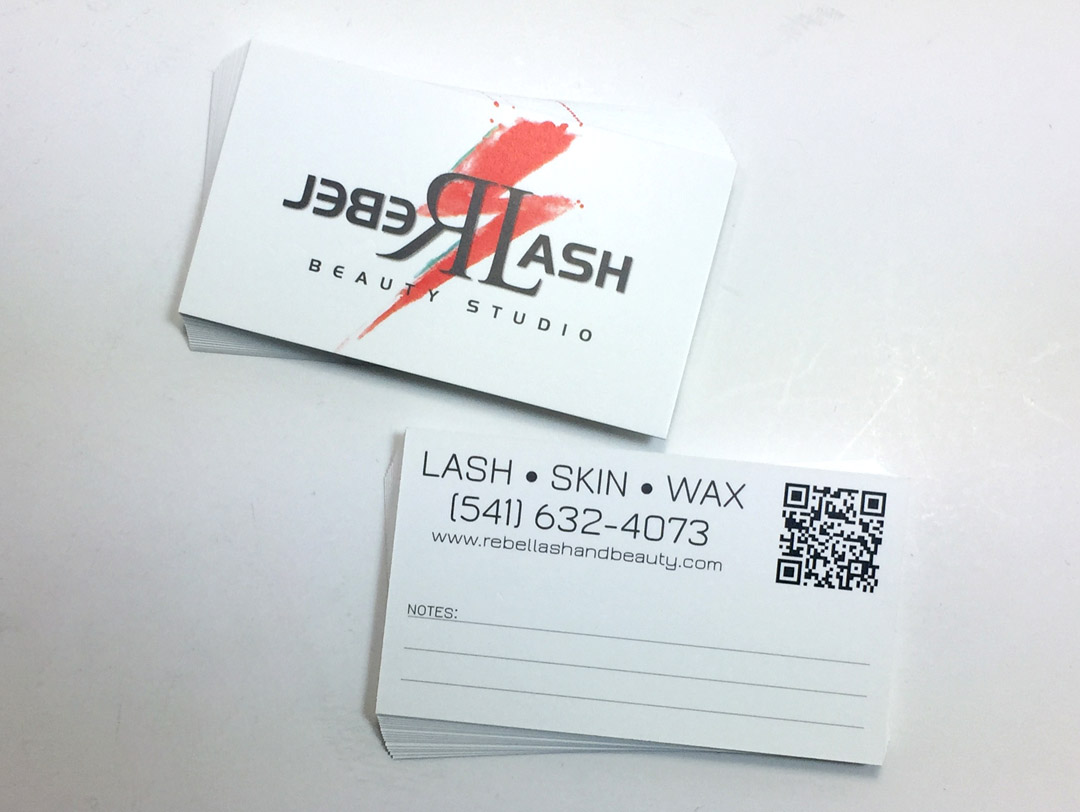 Rebel Lash – Business Cards