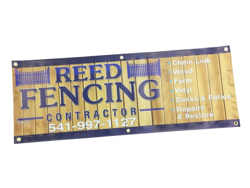 Reed Fencing – Banner