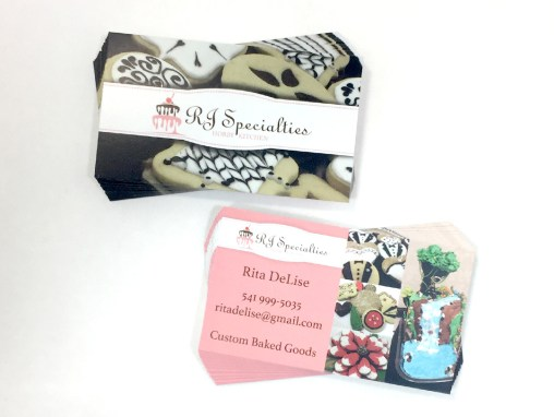 RJ Specialties – Business Cards