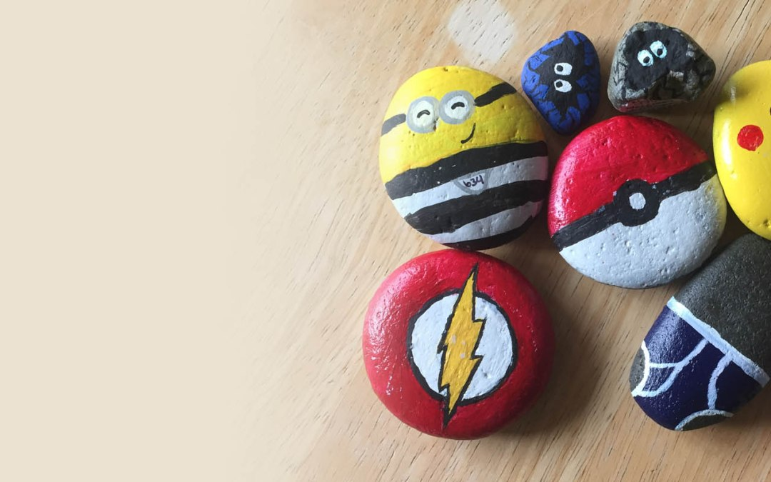 Birth of Florence Oregon Painted Rocks #fopr