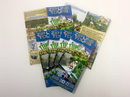 Top of the Rockies Zip Line – Brochure