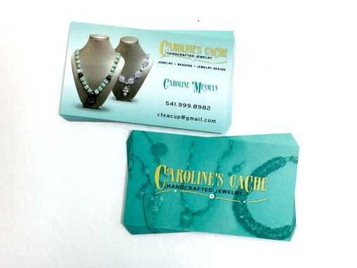 Caroline's Cache – Business Cards