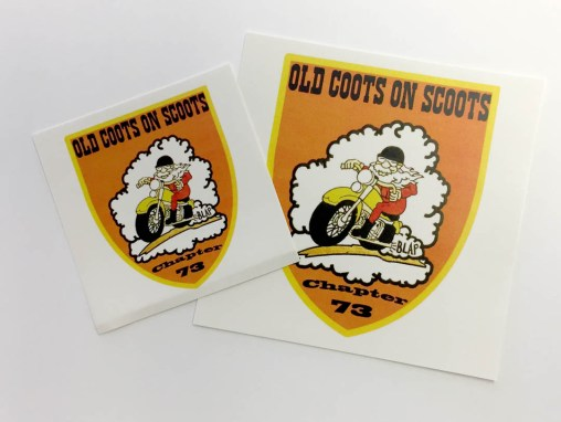 Old Coots on Scoots – Stickers