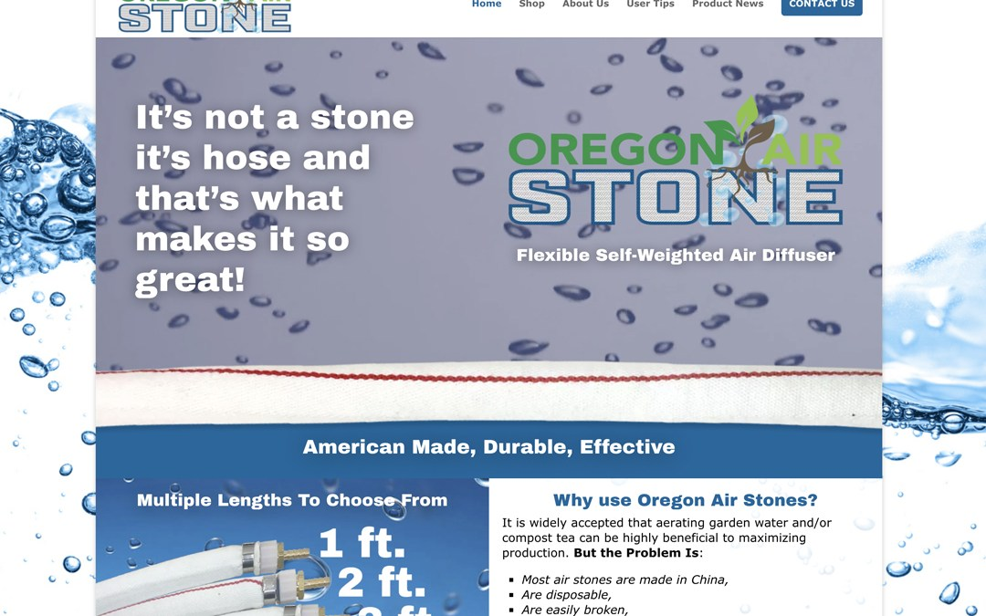 Oregon Air Stone – Website