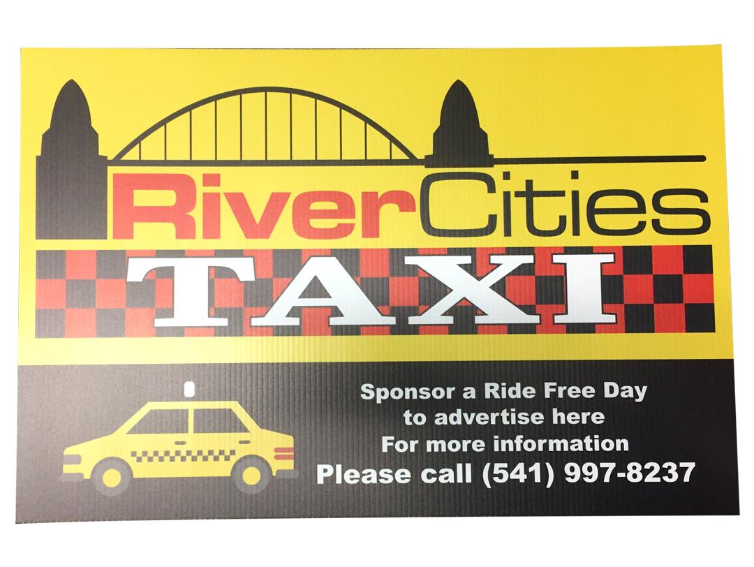 River City Taxi – Sign