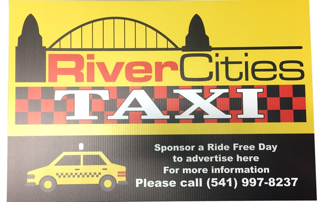 River City Taxi – Sign