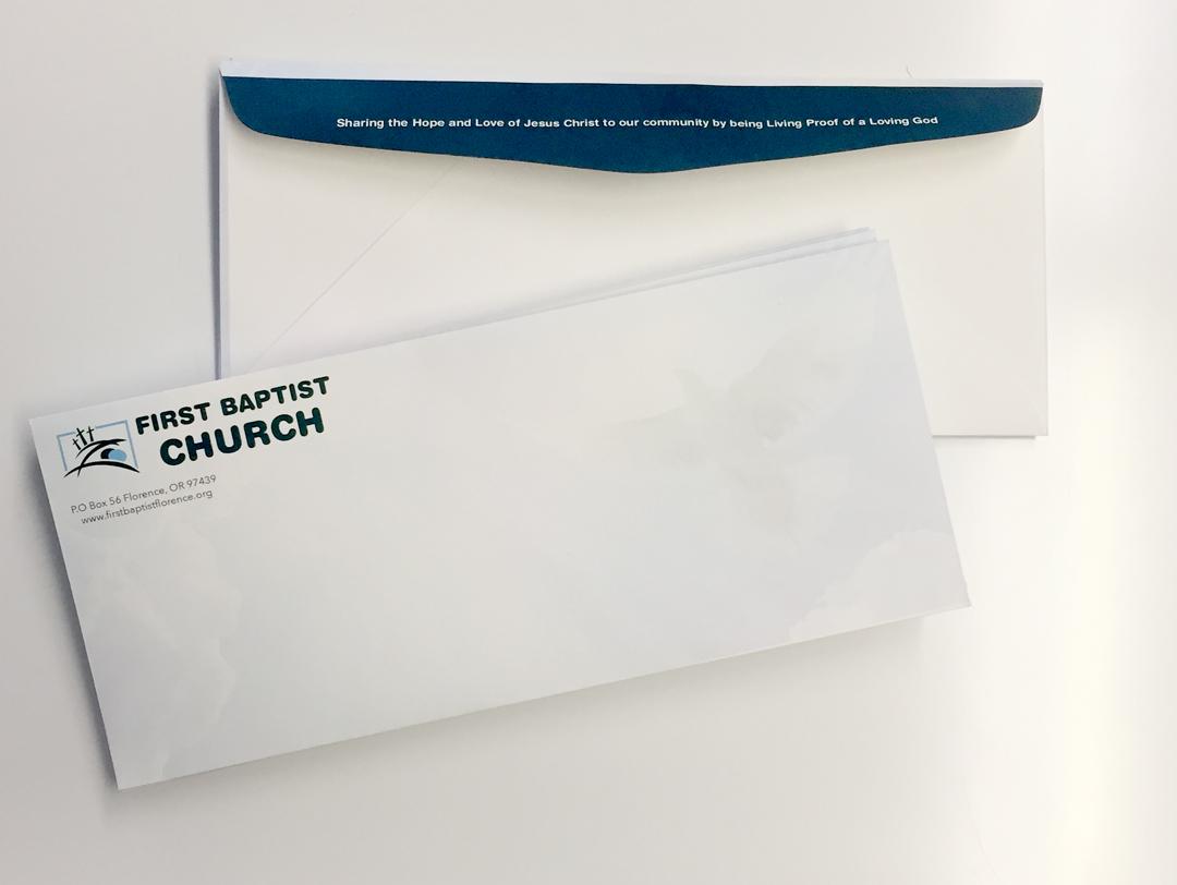 First Baptist Church – Envelopes